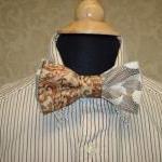 Custom Wedding Mens Bow Ties For Gr..
