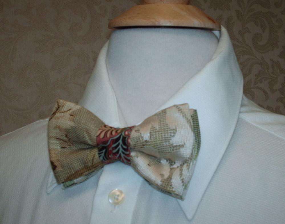Mens Bow Ties / Custom Made, Groom And Groomsmen, Vintage Weddings