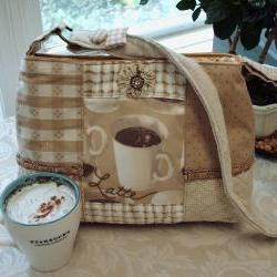 One Of A Kind Love My Latte / Coffee Handbag